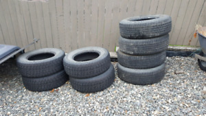 2 sets of tires