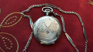 Vintage Argentan Pocket Watch
