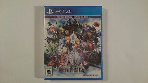 World of Final Fantasy PS4 - BRAND NEW SEALED + RECEIPT