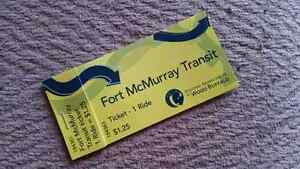 Fort McMurray Transit Passes (9 tickets)