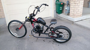 2 Stroke Orange County Chopper Schwinn Stingray pedal-bike