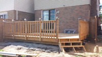 Symmetrical Fence & Deck