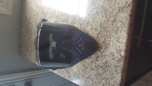 60 obo Black and blue EVIL paintball mask for sale