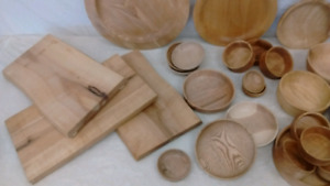 Craft Materials for Woodworkers incl live edge wood