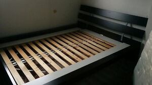 IKEA queen bed frame for sale!!!