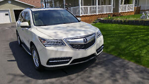 2014 Acura MDX Cuir Familiale NAVIGATION AWD UNE TAXE