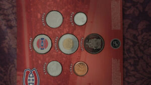Uncirculated Montreal Canadians 2008 Commemorative Coin Set