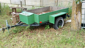 Green Trailer for Sale
