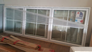 Brand New Window - fixed 3-bank (11ft long x 4ft high)