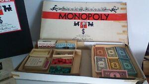 Vintage Monopoly 1936 The Copp Clark Co., Ltd.