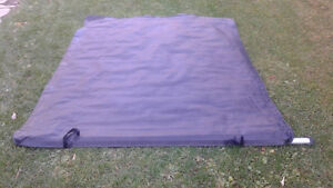 Roll up tonneau cover fits s-10 chevy