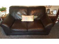 2 Seater Deep Seat Buffalo Leather Sofa