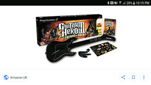 Looking for guitar hero for ps2