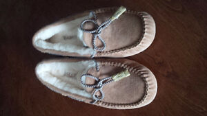 Warm Leather Slippers - for sale !