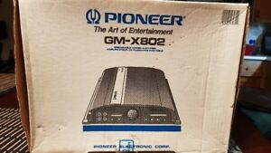 Pioneer New Condition Car Stereo Amp used 3 mths Wiring included