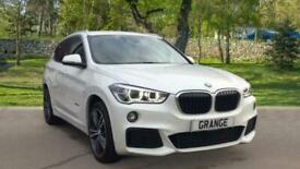 image for BMW X1 xDrive 25d M Sport 5dr Step with Leather and 19 in Auto Estate Diesel Aut