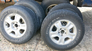 4 x wheel + tires for 2004 ford escape
