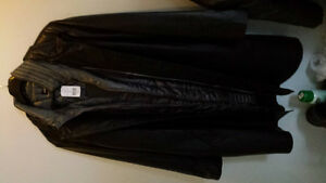 danier genuine leather coat