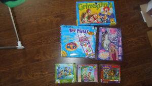 jeux de sociétés et autres jeux 5$