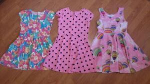 Girl's Summer Dresses (Size 7/8)