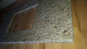 Granite bathroom vanity counter top, finished, BRAND NEW