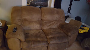 Recliner Couch and love seat for sale PPU
