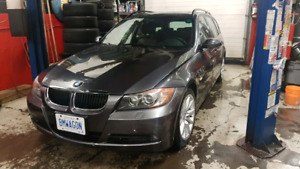 bmw 3 series wagon touring clean well maintained. sport seats
