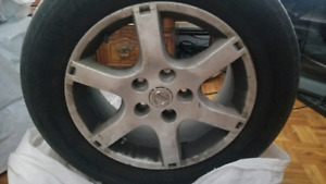 "Original Nissan Altima Alloy Rims 16"" 215/60R16"