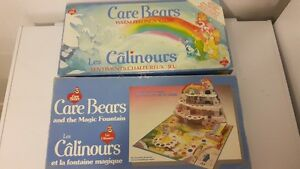Vintage Care Bear Board Games
