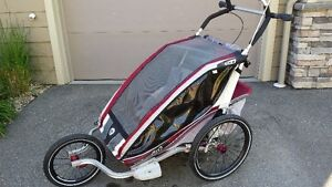 Chariot CX2 double with accessories  (Thule)