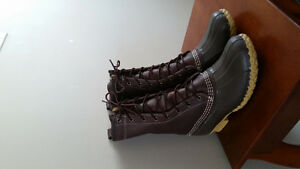 L.L.Bean Original Shearling Duck Boots