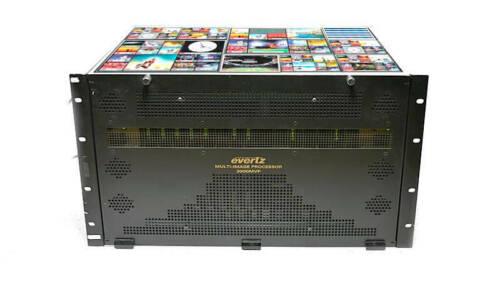 Evertz 3000MVP 64Ch HD/SD Multiviewer 8x 3001MVP-OV 2x PPR-16x16 Plink Routing