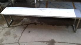 Stainless steel gantry shelf non heated