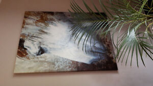 Huge Horse Print/Painting on Canvas
