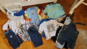 Baby boy lot sizes 0-3, 3-6