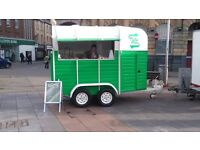 Beautifully converted horsebox catering trailer