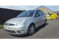 54 plate fiesta 1.4 with mot lovely car