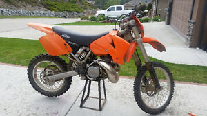 03 KTM 300 EXC with lots of extras