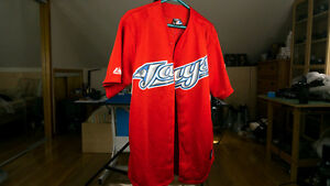 Majestic Blue Jays Team Canada Genuine Jersey #19, Large