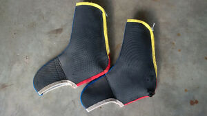 Cycling booties