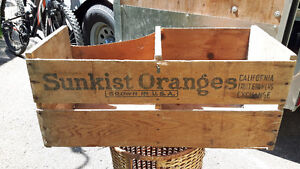 sunkist oranges box