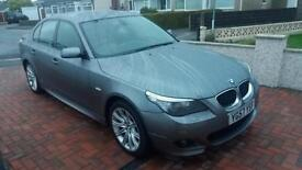2007 57 BMW 520D M SPORT 2.0TD AUTO.STUNNING EXAMPLE WITH FSH.FINANCE AVAILABLE,