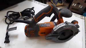 "RIDGID R3250 5"" TWIN BLADE CIRCULAR SAW ON SALE FOR  $120"
