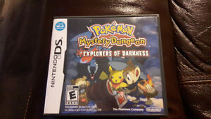 Nintendo DS Pokémon Mystery Dungeon Explorers of Darkness