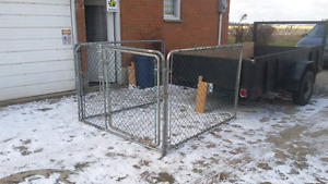 Kennel 6x6x4h for pups or big dog $300.00