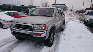 1998 Toyota 4Runner Limited SUV, Crossover