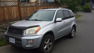 SELL/TRADE 2001 Toyota Rav4 Limited Edition