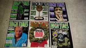 High Times, Head, Cannabis Culture magazines from 2000-2003