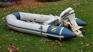 Great Zodiac and Motor for sale ...get now for next summer