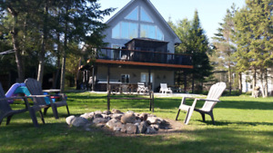 Winter cottage rental with Hot tub